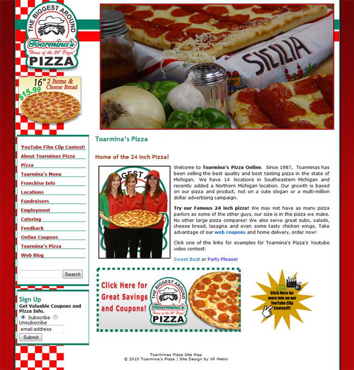 Toarminas Pizza